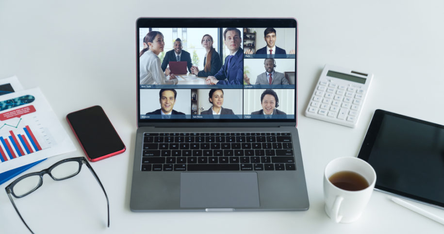 Branded Video Meeting Room